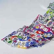Seidentuch / Foulard Niki de St. Phalle