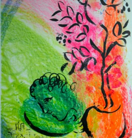 Kunstdruck _Chagall - o.T