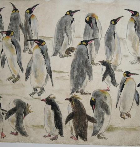 Original - Walter Lindner - Pinguine
