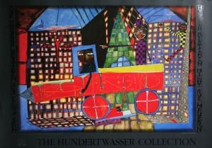 Kunstdruck - Hundertwasser - Lastwagenfahrer