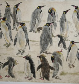 Original - Walter Lindner - Pinguine